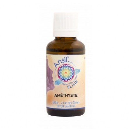 Améthyste - Elixir de Cristaux