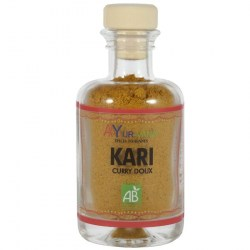 Kari bio (curry doux)