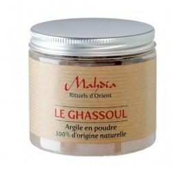 Ghassoul en poudre 100% d'origine naturelle