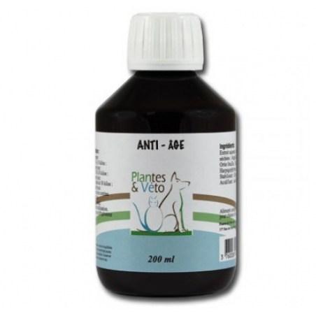 Anti-Âge pour animaux - Flacon de 200 ml - Plantes & Véto - 2021