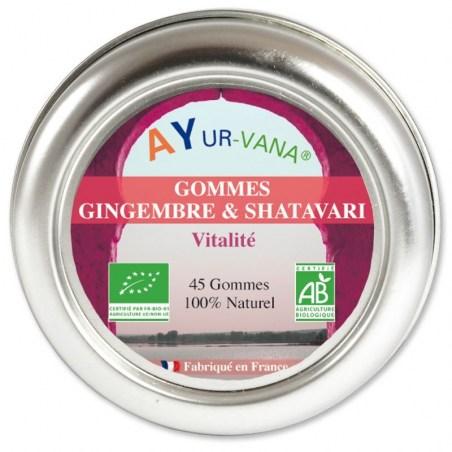 Gommes Gingembre et Shatavari