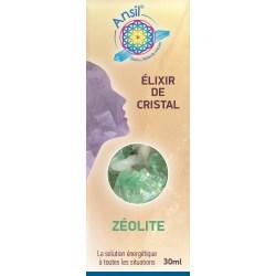 Zéolite - Élixir de Cristaux - Flacon de 30 ml - Ansil