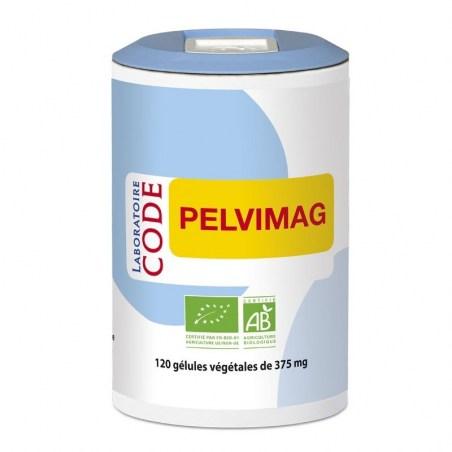 Pelvimag Bio (confort urinaire) - 120 gélules végétales - Laboratoire Code - 2021