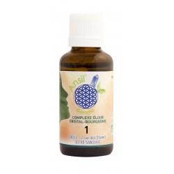 Flacon Élixir de baryte et bourgeons de frêne, genévrier, noyer - N° 1 - 30 ml - Ansil