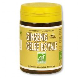 Ginseng & Gelée Royale Bio - 60 gélules végétales - L'Abeille Forestière