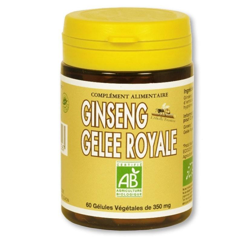 Ginseng & Gelée Royale Bio