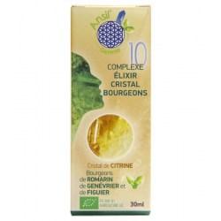 Élixir de citrine et bourgeons de romarin, genévrier, figuier - N°10 Etui