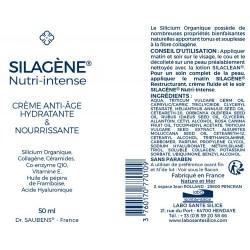 Notice SILAGENE® Nutri-Intense - NOUVELLE FORMULE - 50 ml - Labo Santé Silice