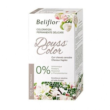 Ébène Profond n° 101 - Coloration permanente délicate Dousscolor - 131 ml - Beliflor - 2021