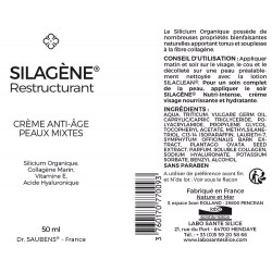 Notice SILAGENE® Restructurant - Anti âge - 50 ml - Labo Santé Silice