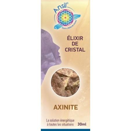 Étui Axinite - Élixir de Cristaux - 30 ml - Ansil - Shop Nature