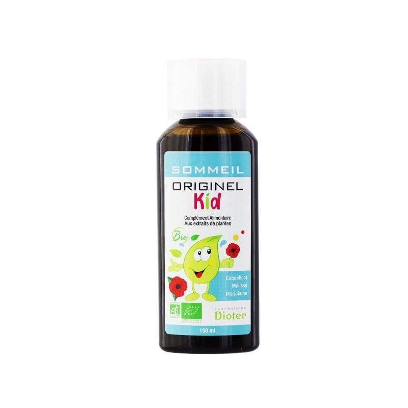 Originel Kid Sommeil - Flacon de 150 ml - Laboratoire Dioter - 2021