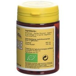 Notice Ginseng & Gelée Royale Bio - 60 gélules végétales - L'Abeille Forestière