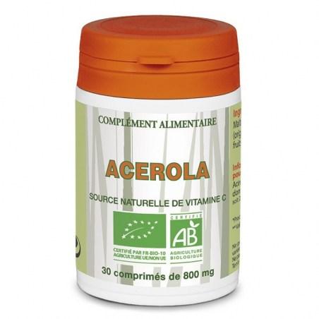 Acérola Bio - 30 comprimés - Laboratoire Brasil - 2021
