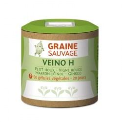 Veino H - 60 gélules végétales - Graine Sauvage - 2021