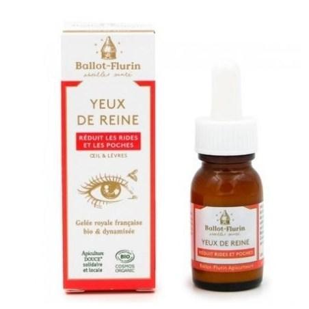 Yeux de Reine - Crème contour de l'œil Bio - Flacon airless 15 ml - Ballot-Flurin
