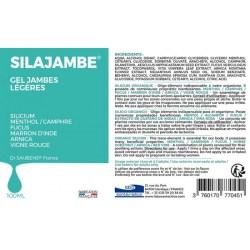 Notice SILAJAMBE® - Tube airless 100 ml - Labo Santé Silice - 2021