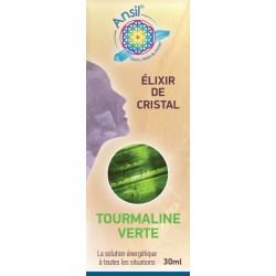 Tourmaline verte - Élixir de Cristaux - 30 ml - Ansil - boîte - 2020