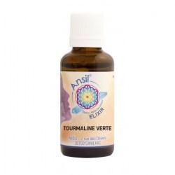 Tourmaline verte - Élixir de Cristaux - 30 ml - Ansil - flacon - 2020