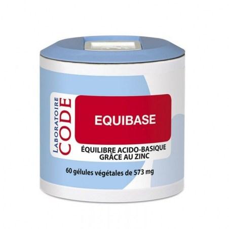 Equibase - 60 gélules végétales - Laboratoire CODE - 2021