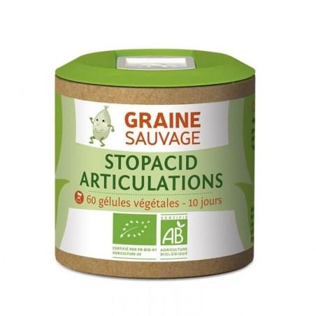 Stopacid Articulations - 60 gélules végétales - Graine Sauvage - 2020