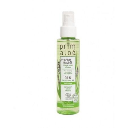 Spray d'Aloès Multi Usage Nature 96% Aloé Vera - 125 ml - Prim Aloé - 2021