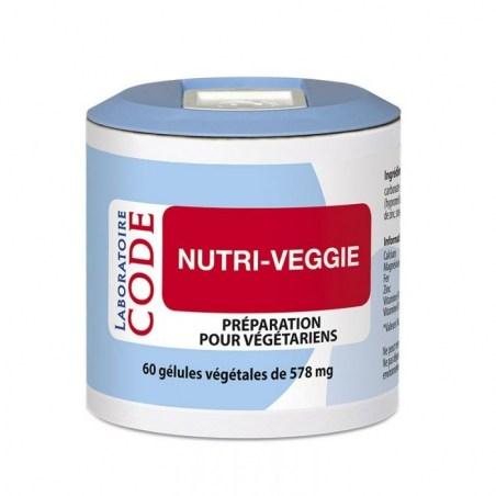 Nutri-veggie - 60 gélules végétales - Laboratoire Code - 2021