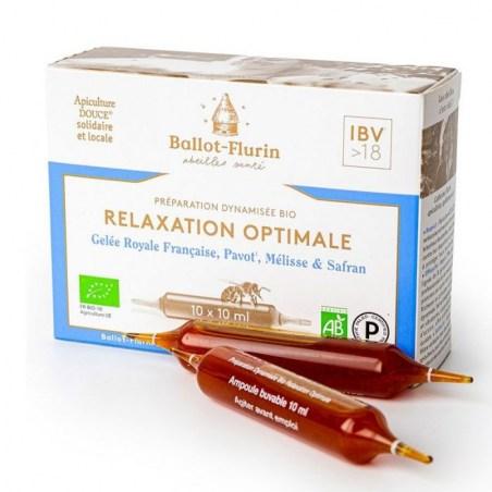 Préparation dynamisée Relaxation Optimale - 10 ampoules de 10 ml - Ballot-Flurin - 2021