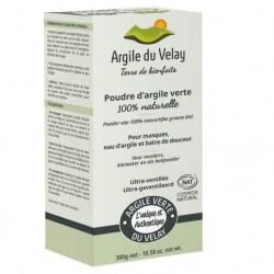 Argile Verte du Velay Ultra-ventilée - boite 300 gr - Beliflor - 2021