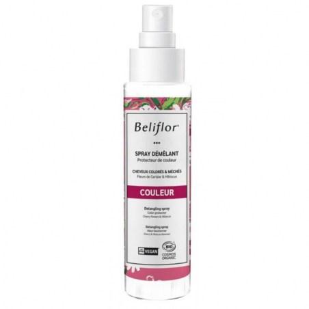 COULEUR - Spray démêlant - cheveux colorés - 125 ml - Beliflor - 2021