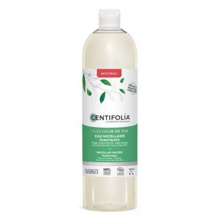Eau micellaire fraicheur de thé - 500 ml - Centifolia - 2021