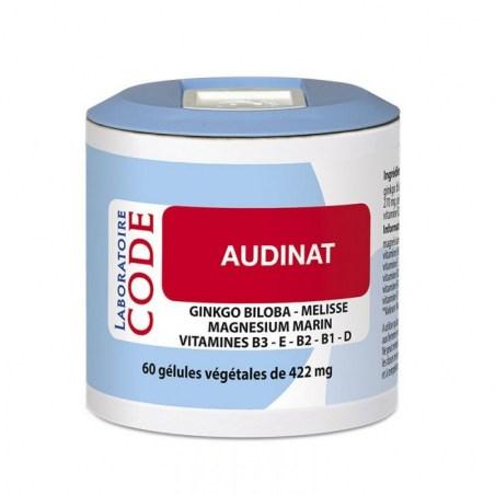 Audinat - 60 gélules végétales - Laboratoire Code - 2021