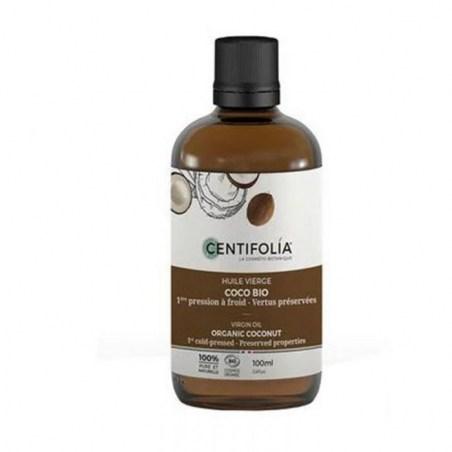 Huile végétale vierge biologique de Coco - 100 ml - Centifolia - 2021