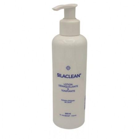 SILACLEAN ® lotion démaquillante - Nouvelle formule - Flacon de 200 ml - Labo Santé Silice - 2021