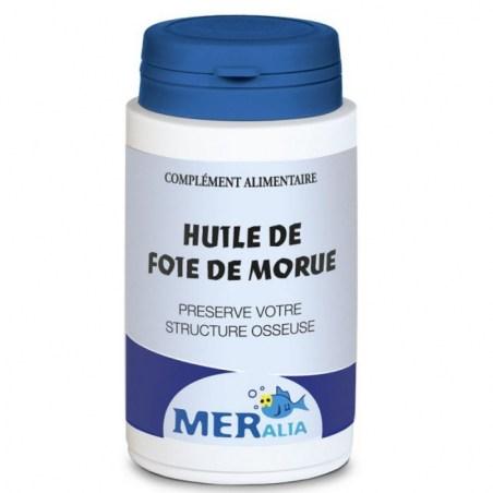 Huile de Foie de Morue - Pilulier de 90 capsules molles - Meralia - 2021