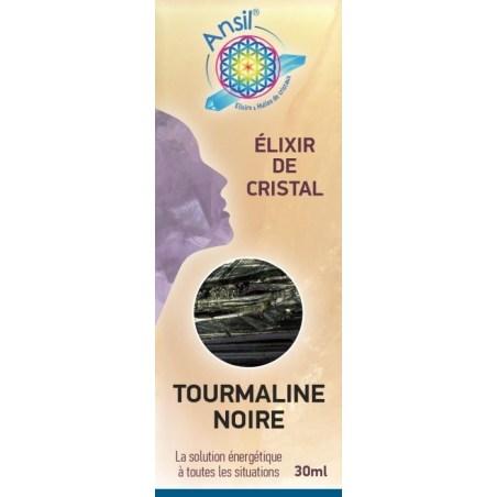 Etui Tourmaline noire - Élixir de Cristal - 30 ml - Ansil - 2021