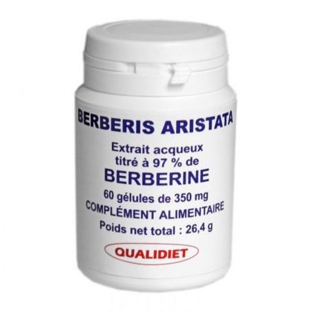 Extrait de Berberis Aristata titré à 97% de Berbérine - 60 gélules - Vital Osmose - 2021
