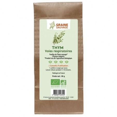 Feuilles de Thym sauvage - Sachet de 50 g - Graine Sauvage - 2021