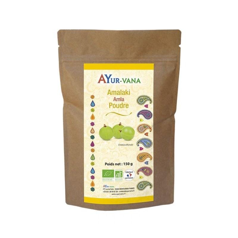 Amalaki sachet de poudre bio - 150 g - Ayurvana - 2021