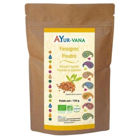Fenugrec Bio - 150 g de poudre - Ayurvana - 2021