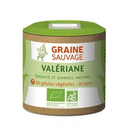 Valériane Bio - 60 gélules végétales - Graine Sauvage - 2021